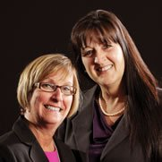 Branch Managers Donna Parrotte and Dana Chapel