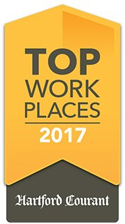 Awarded Top Workplaces of 2017 by Hartford Courant